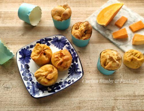 Muffin salati di zucca
