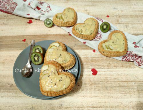 Crostatine morbide al kiwi