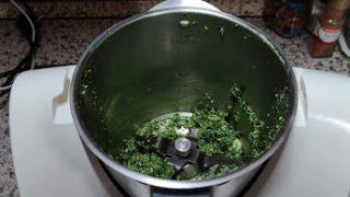 frittata di spinaci