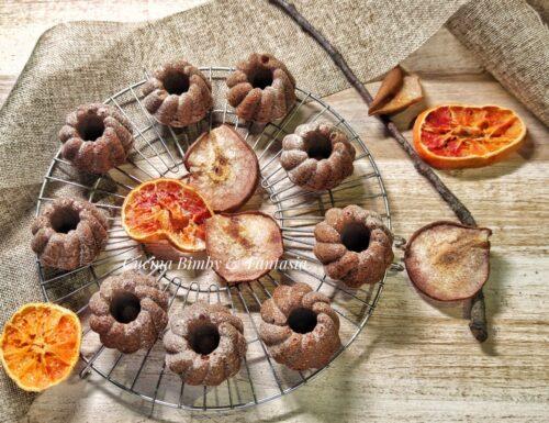 Muffin di pere senza uova e senza glutine