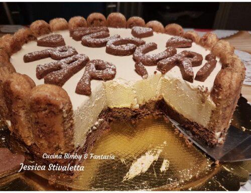 Cheesecake al tiramisù per la festa del papà