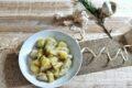 Topinambur e patate in padella