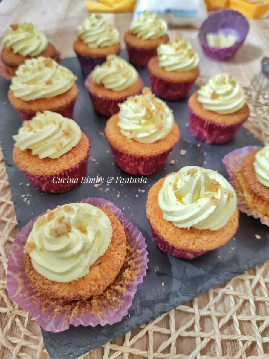 muffin mimosa al cocco