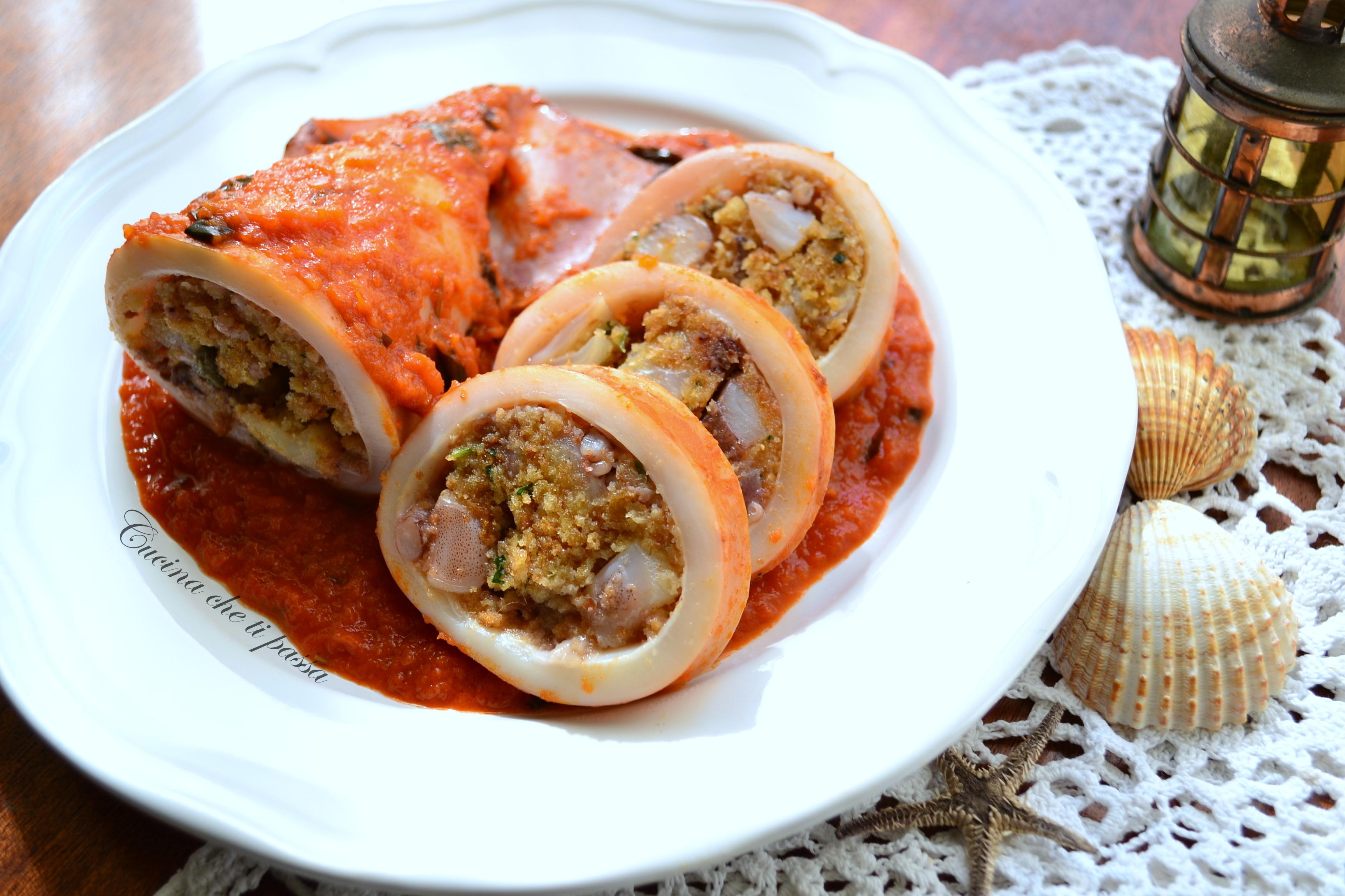 Cucina regionale siciliana totani ripieni cucina che ti for Cucina siciliana