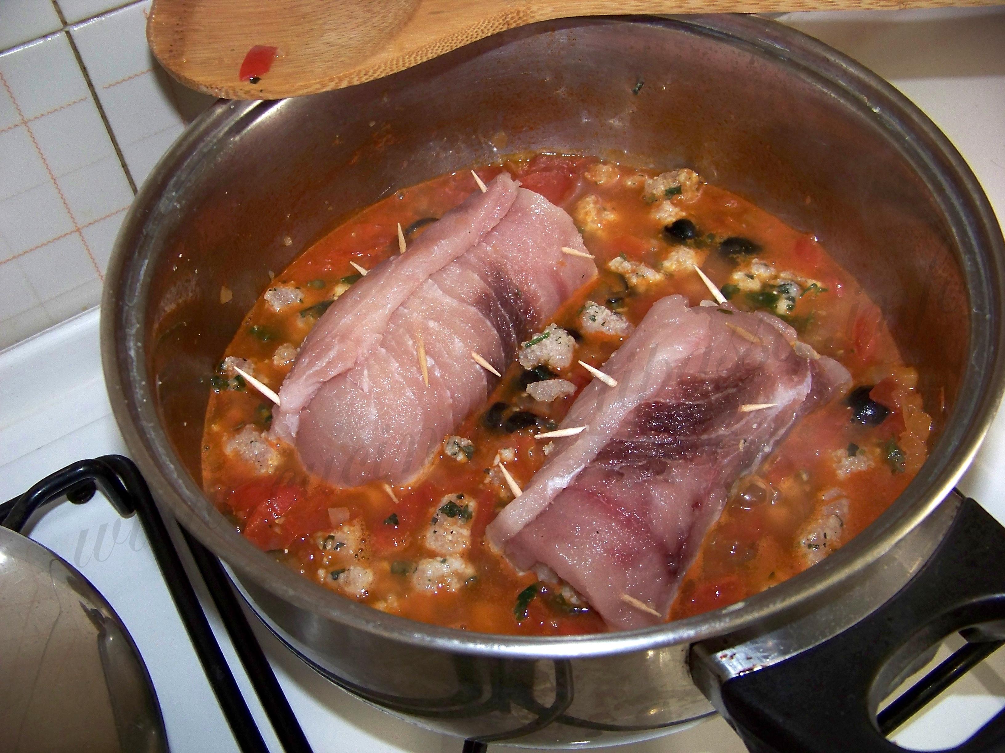 involtini di pesce spada alla messinese ricetta (23)