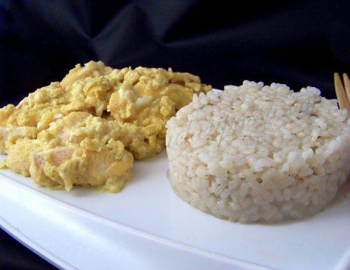 Pollo Thailandese al latte di cocco, curry e zenzero