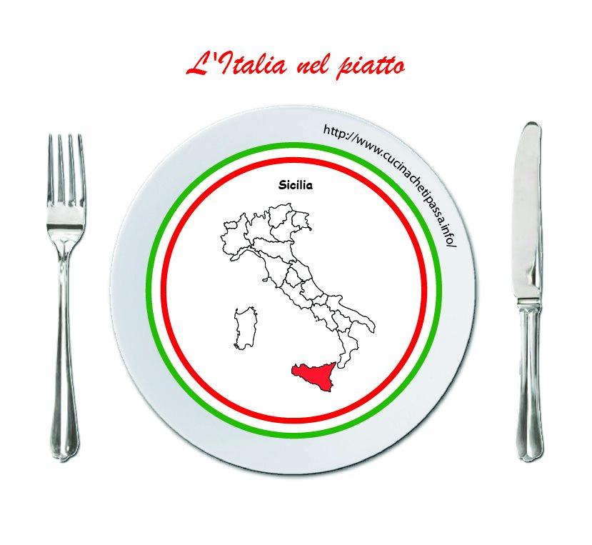 logo italia nel piatto