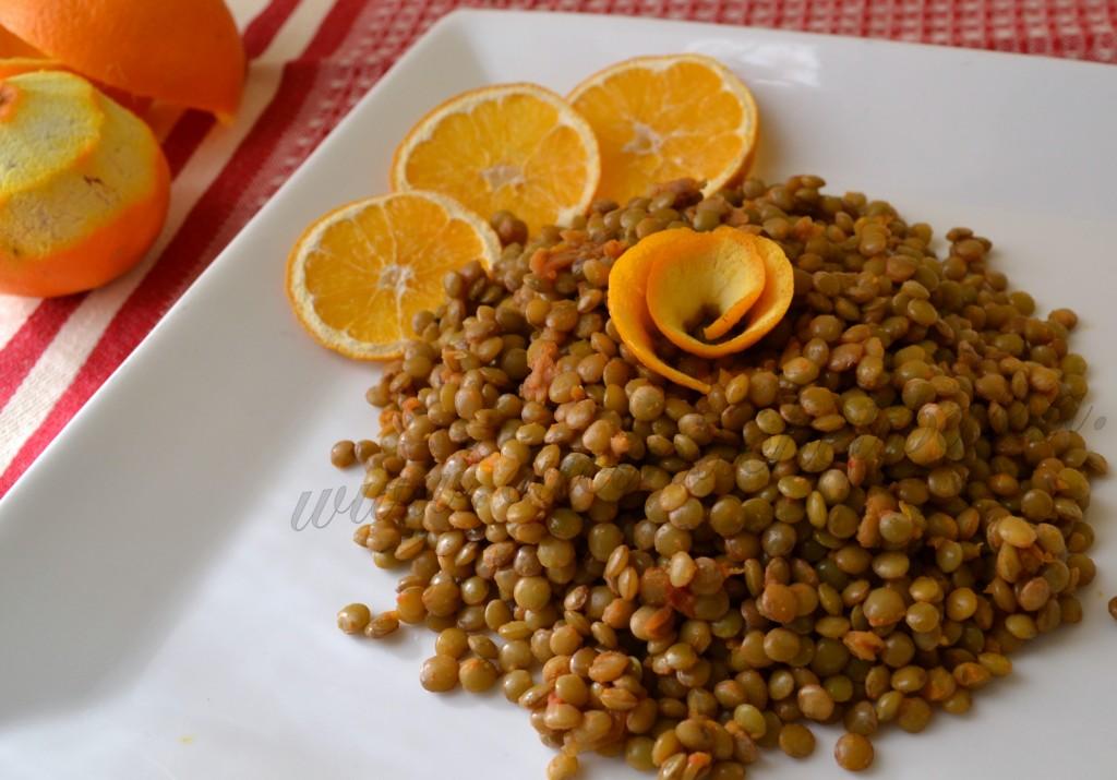 ricetta lenticchie all'arancia per capodanno (1)