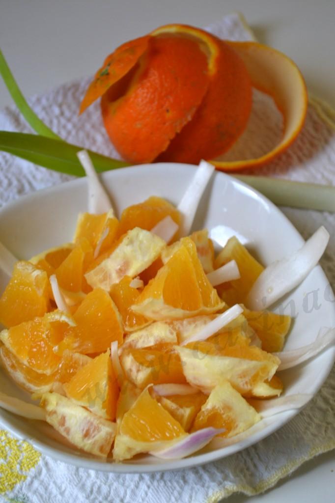 ricetta siciliana insalata d'arance (4)