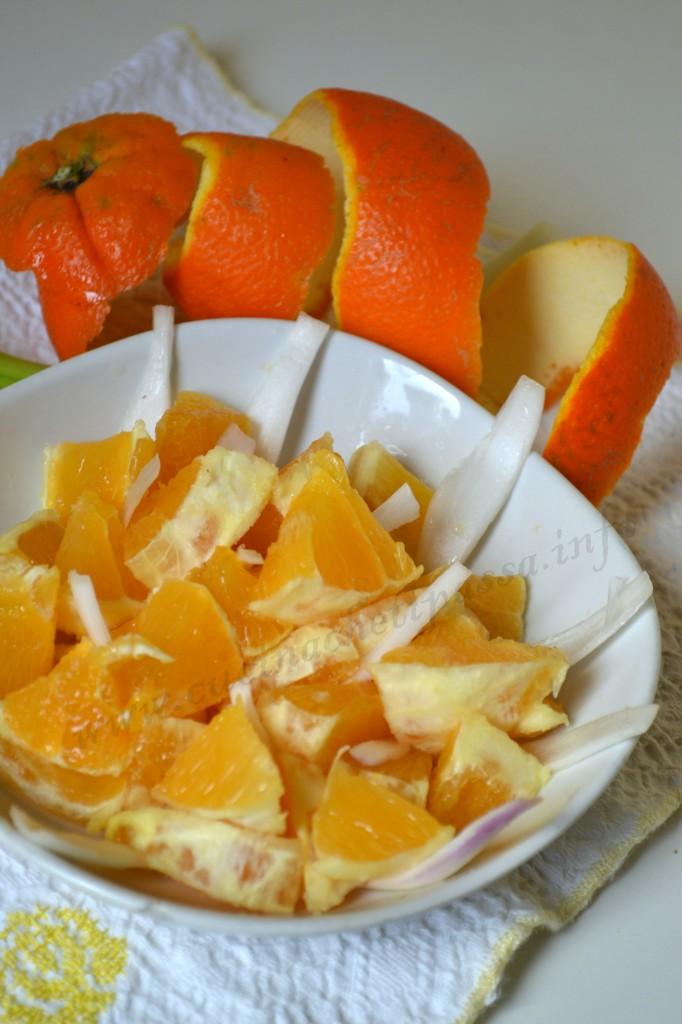 ricetta siciliana insalata d'arance
