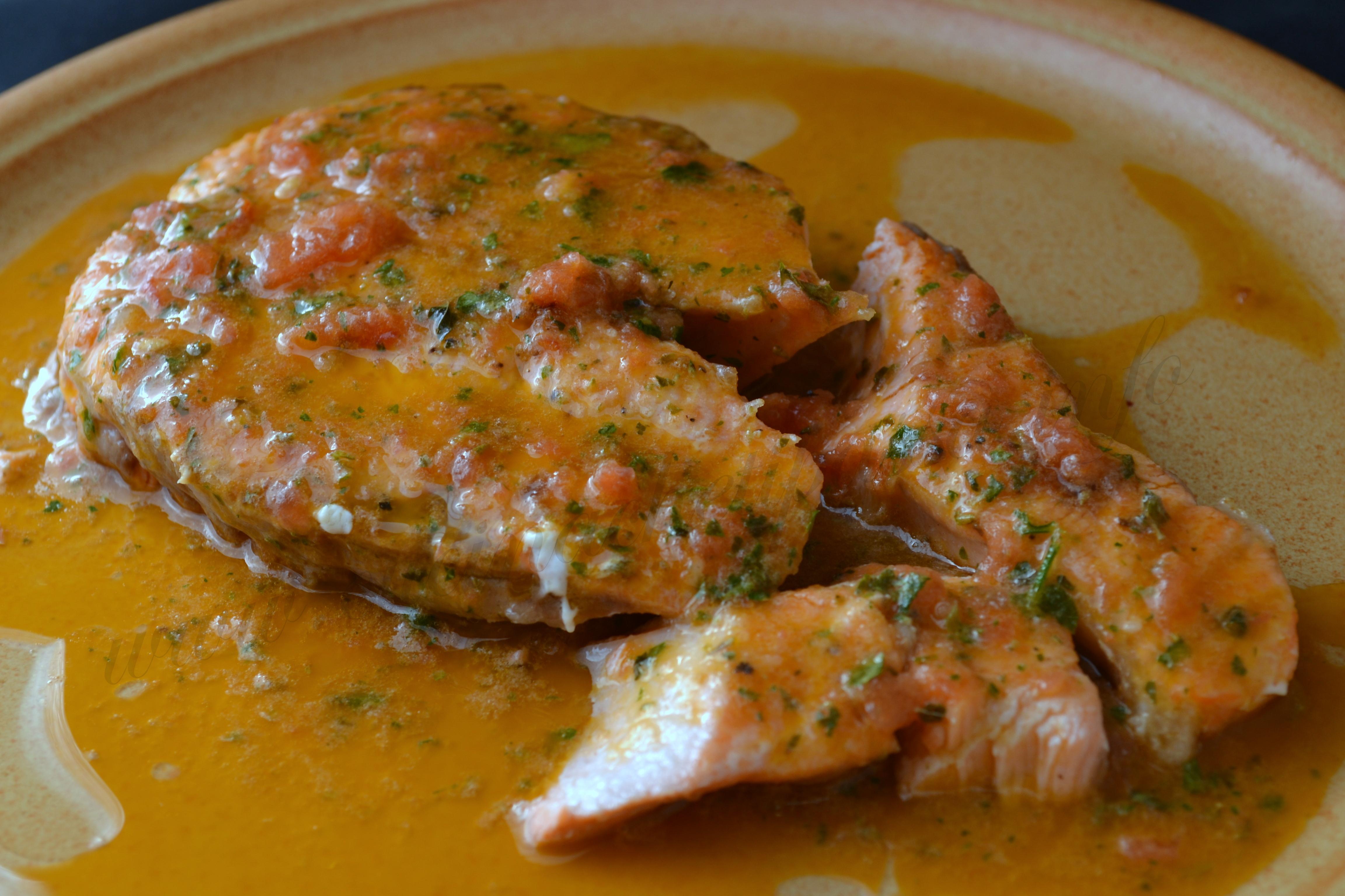 Salmone al salmoriglio cucina che ti passa for Salmone ricette
