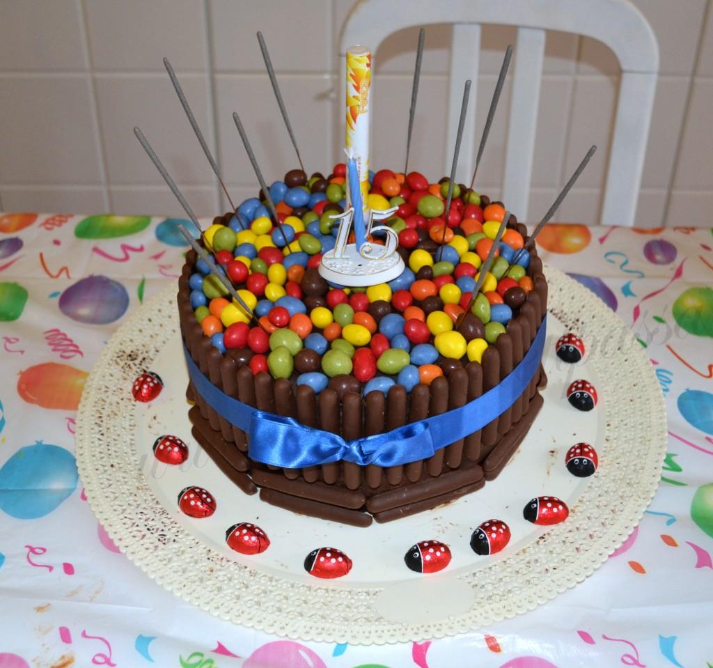 ricetta torta con smarties e togo (19)