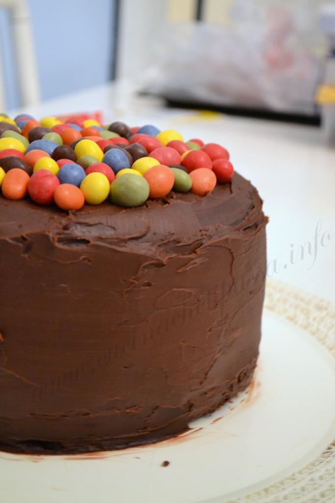 ricetta torta con smarties e togo (8)