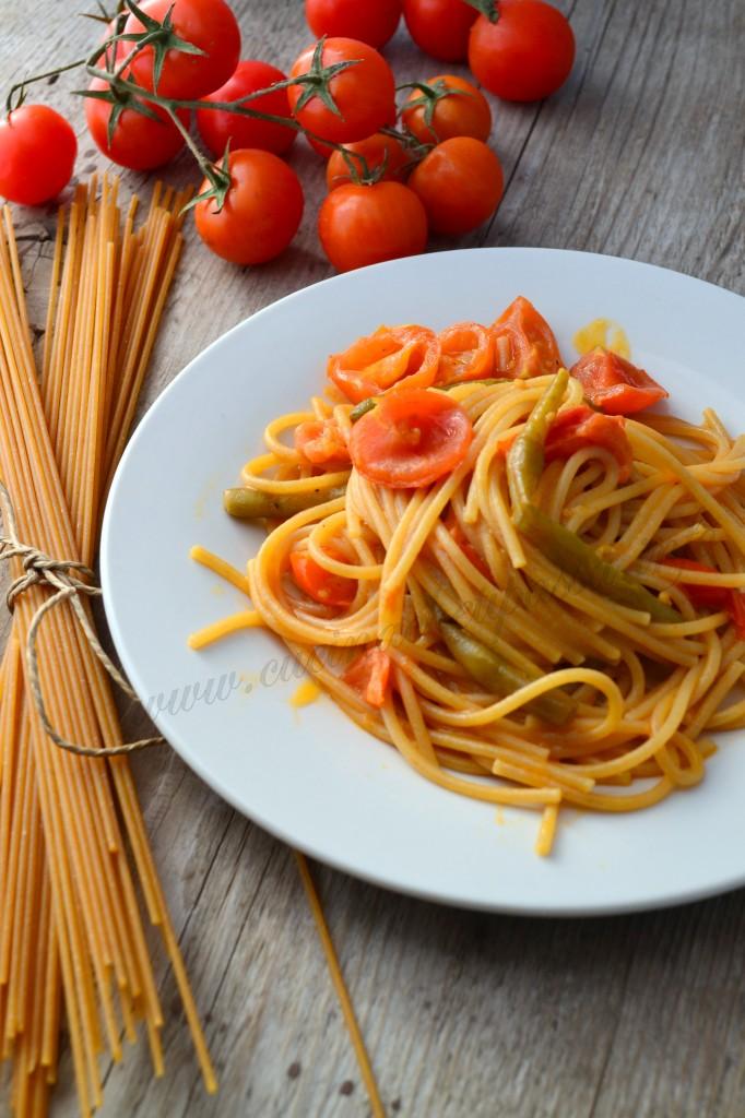 ricette con spaghetti integrali e fagiolino (20)