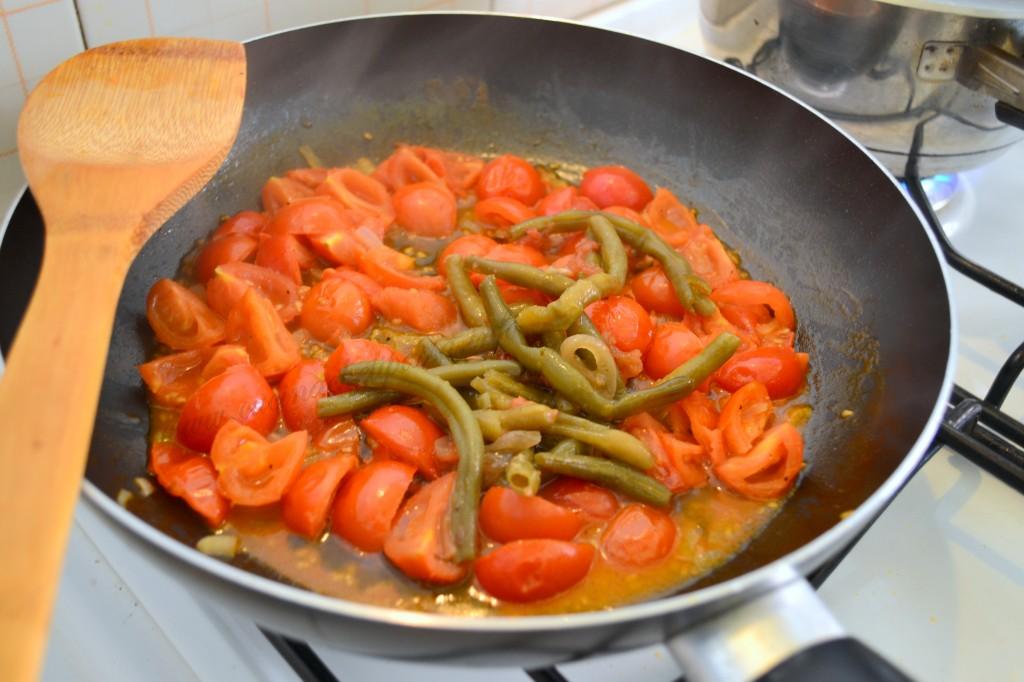 ricette con spaghetti integrali e fagiolino (3)
