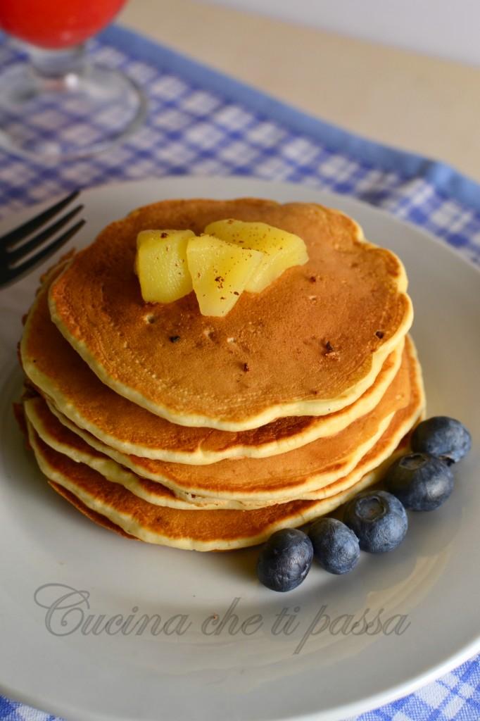 pancake alle mele ricetta  (12)