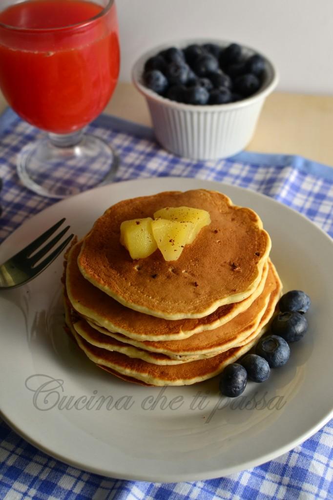 pancake alle mele ricetta  (28)