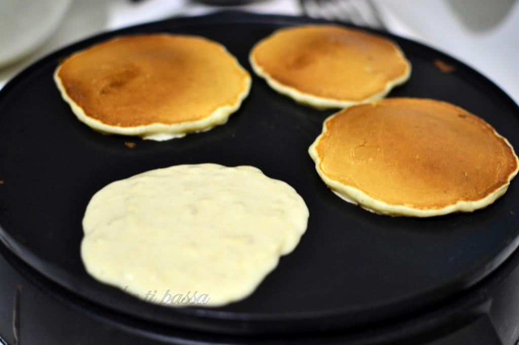 pancake alle mele ricetta  (5)