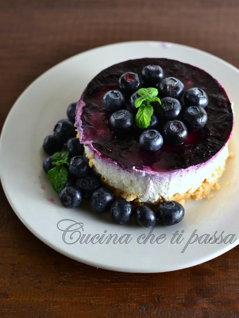 ricetta cheesecake con quark e mirtilli (15)