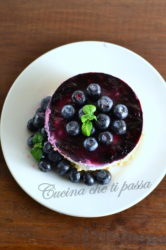 ricetta cheesecake con quark e mirtilli (16)