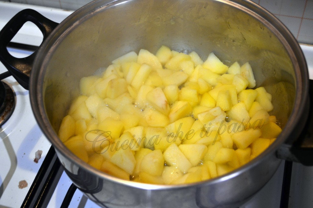 crema di panna e mele dolce al cucchiaio (3)