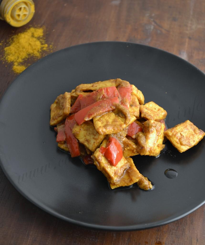 pollo al curry e peperoni ricetta (1)