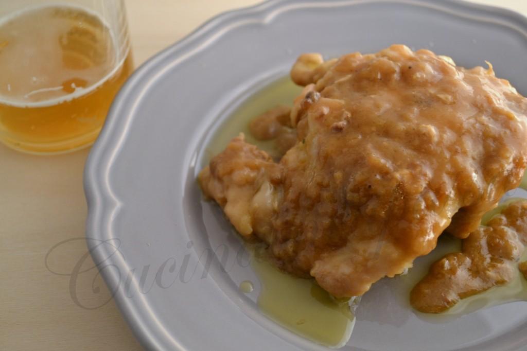 ricetta pollo alla birra (7)