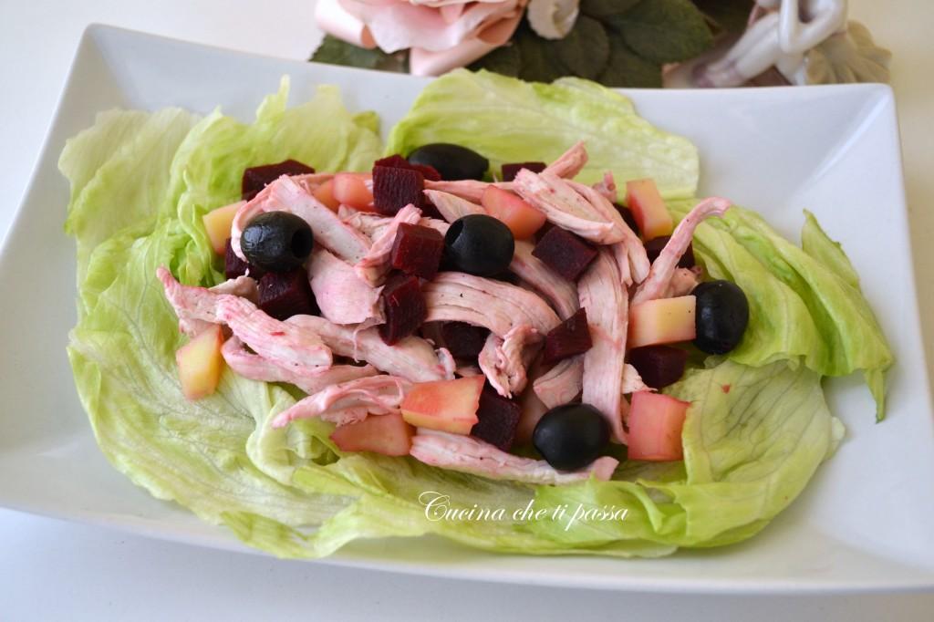 ricetta insalata di pollo rosa festa della mamma (8)
