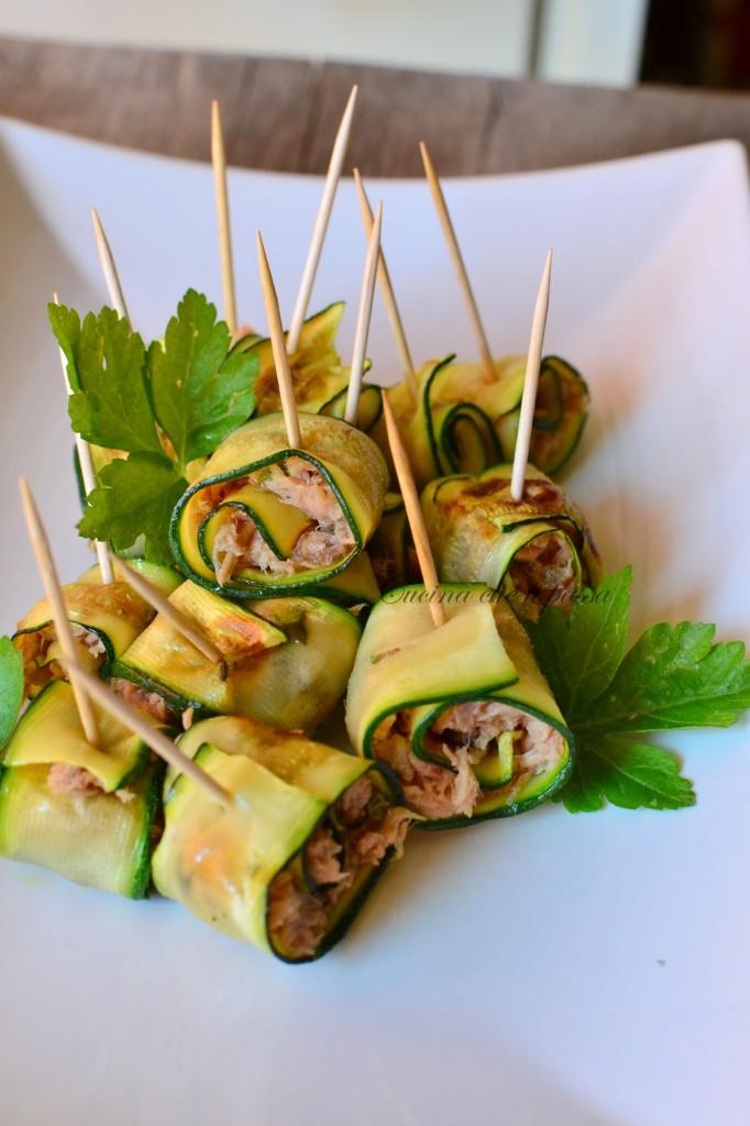 ricetta involtini di zucchina e tonno (24)