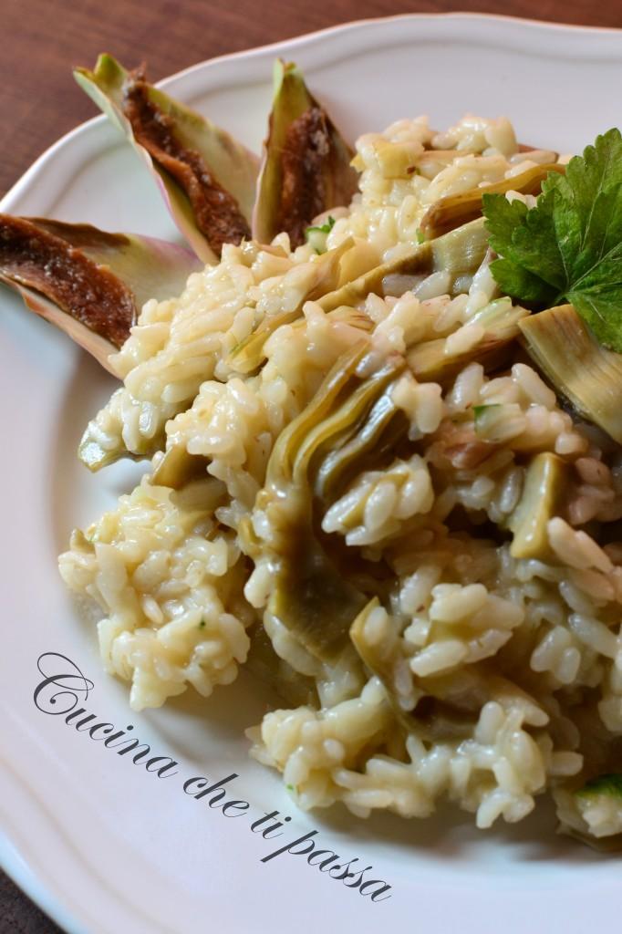 ricetta risotto con i carciofi (1)