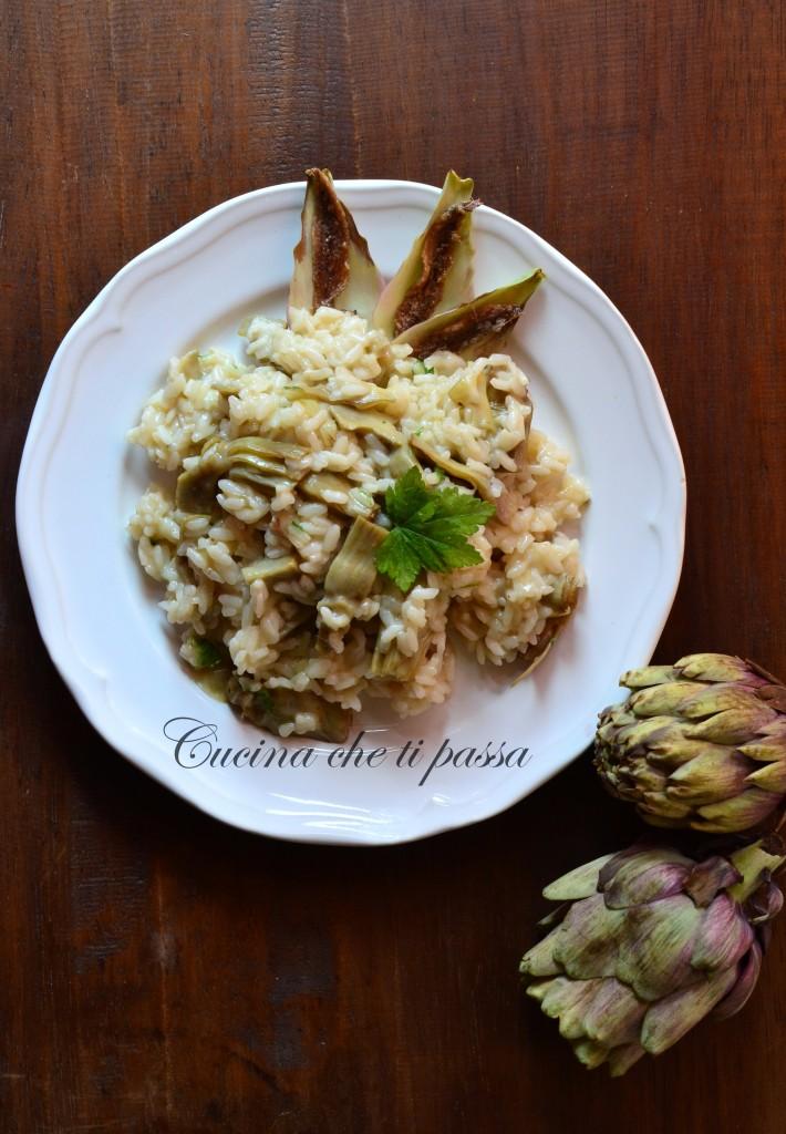 ricetta risotto con i carciofi (10)