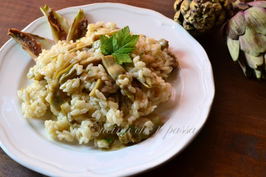 ricetta risotto con i carciofi (4)