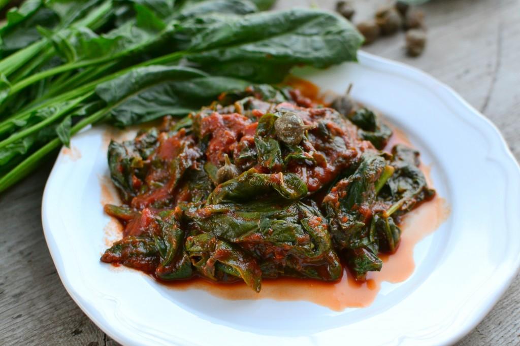 ricetta spinaci alla partenopea (11)
