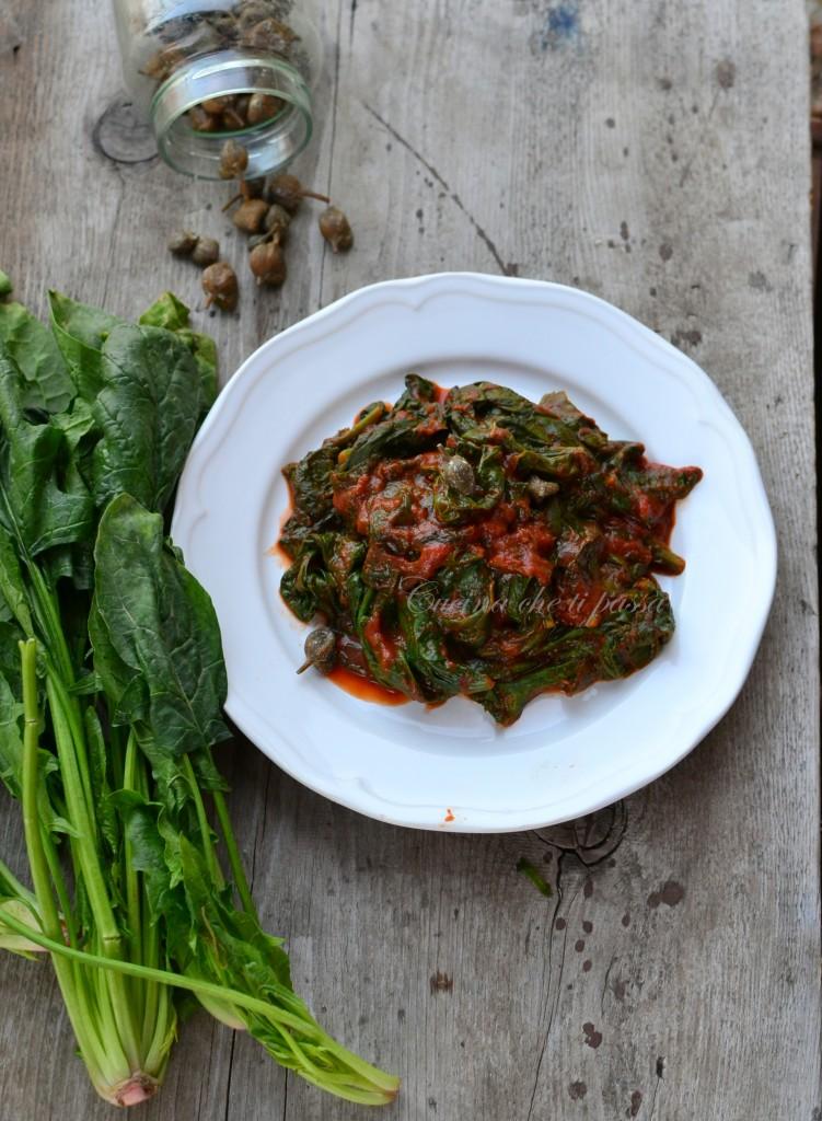 ricetta spinaci alla partenopea (7)