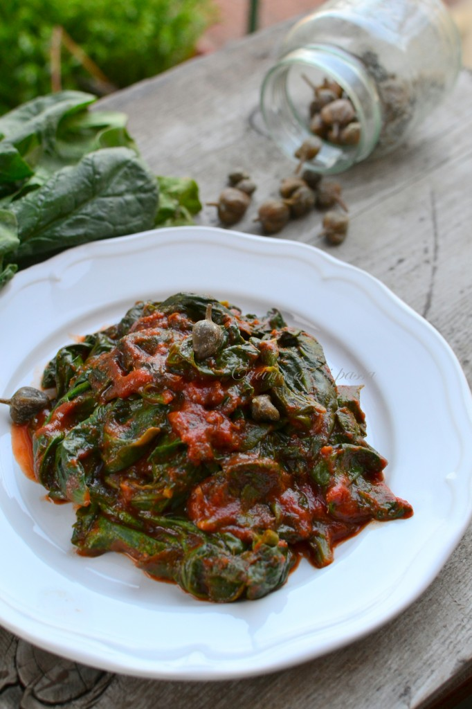 ricetta spinaci alla partenopea (9)