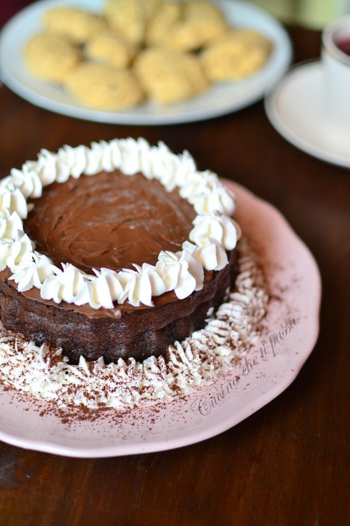 ricetta torta allo yogurt e cacao (70)