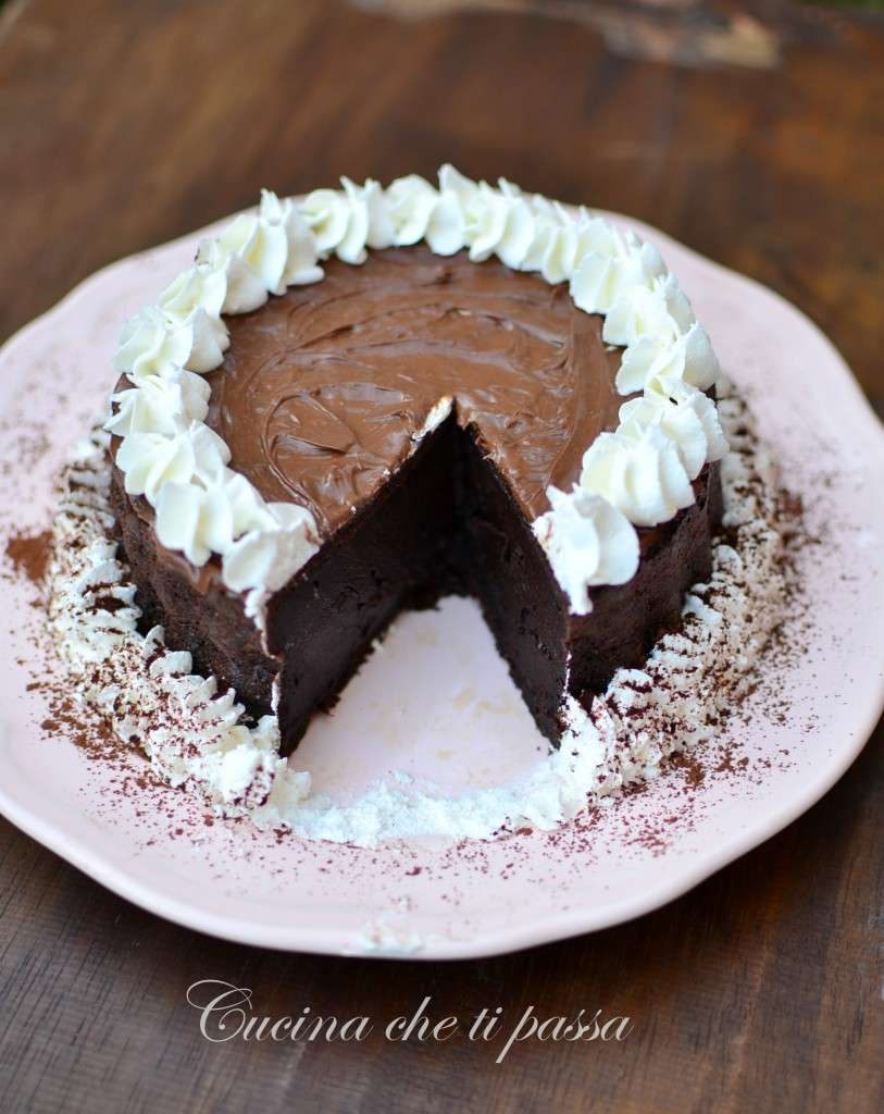 ricetta torta allo yogurt e cacao (81)