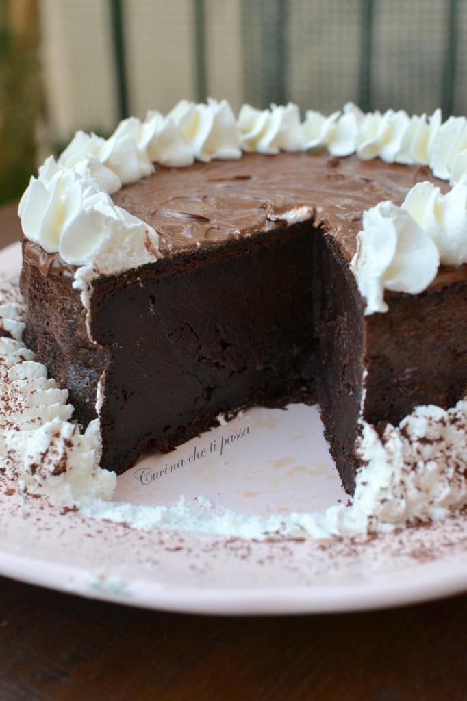 ricetta torta allo yogurt e cacao (85)