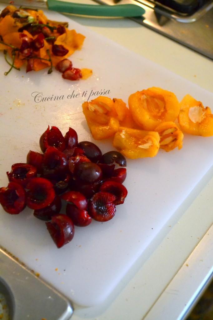 ricetta bruschette con ciliegie e nespole (2)