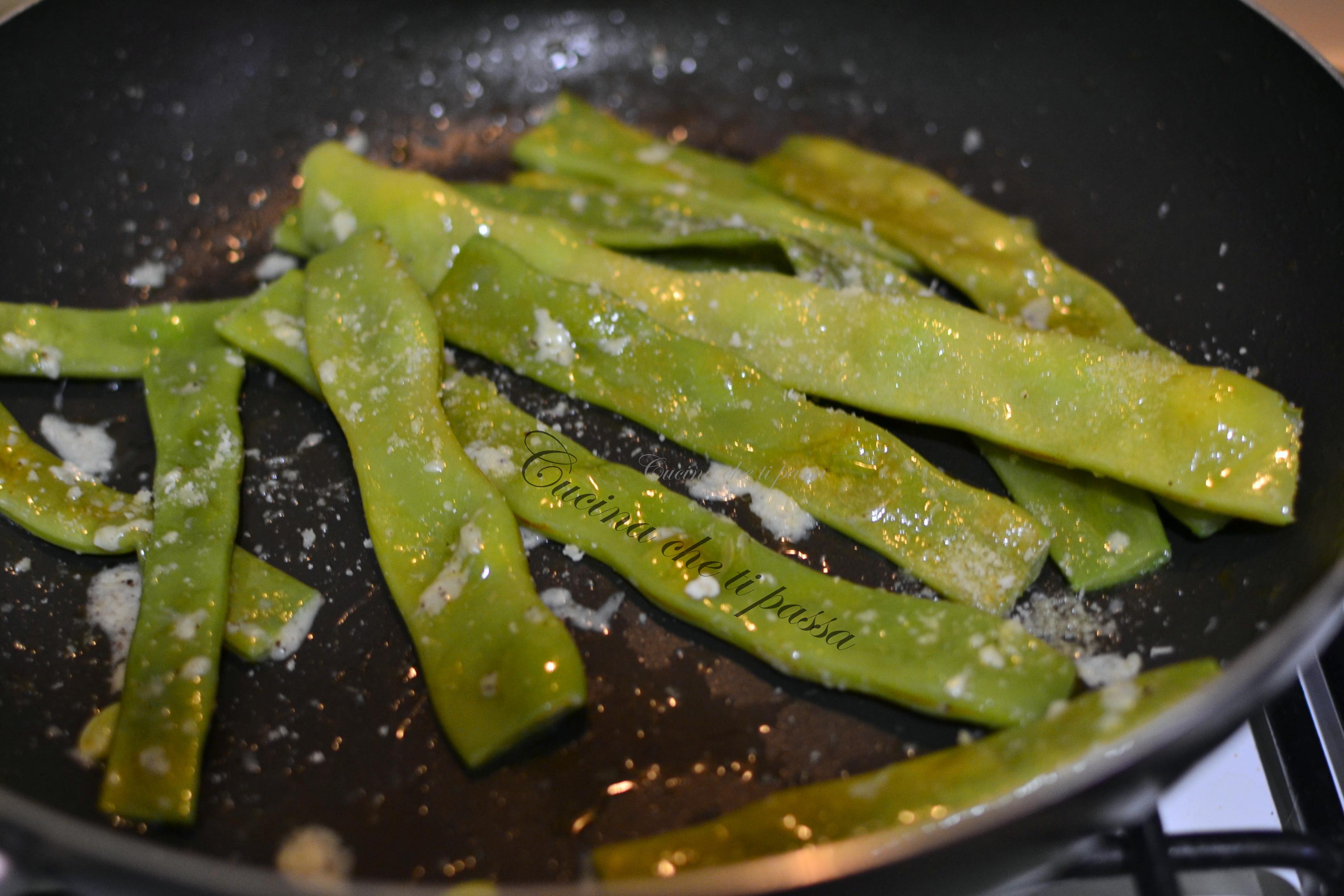 Taccole al pecorino cucina che ti passa for Cucinare le taccole