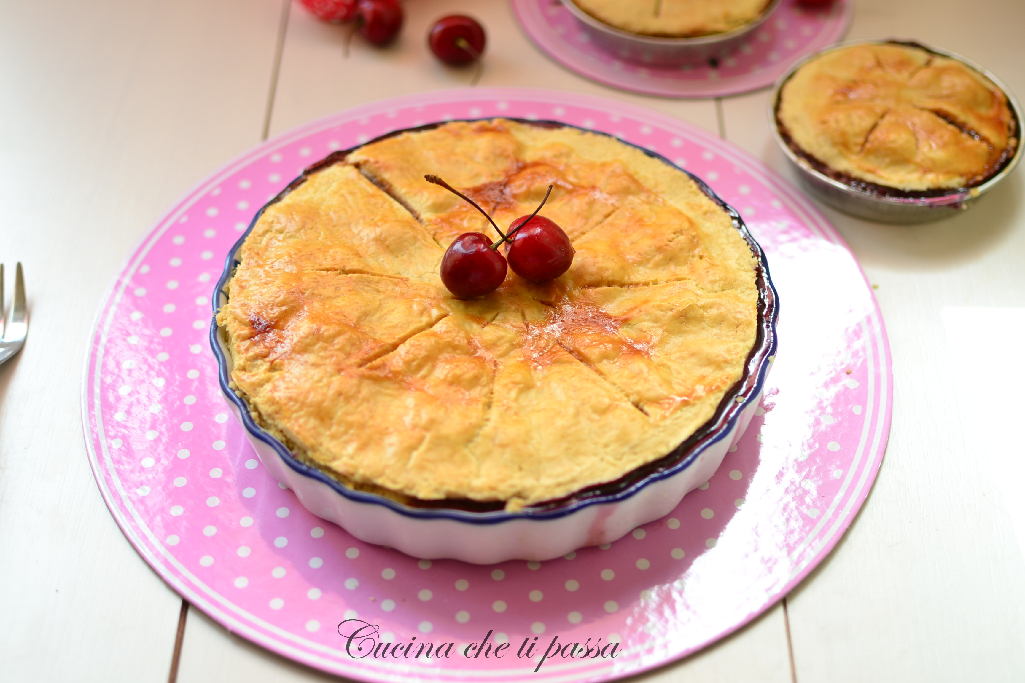 CherryPie – Torta di ciliegie