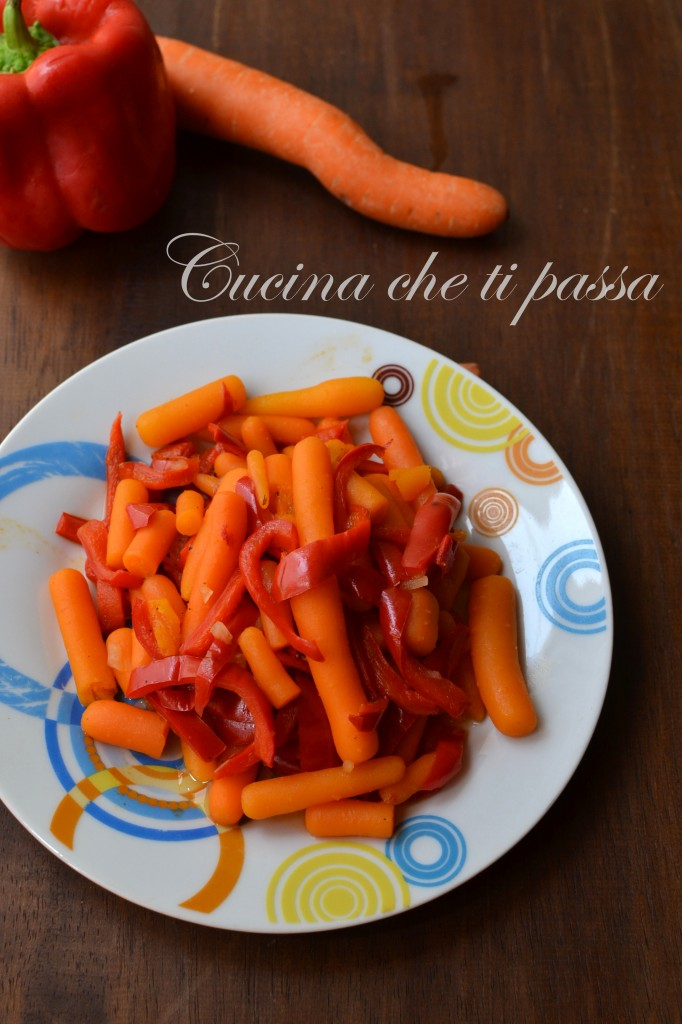 ricetta cpeperoni e carote (10)