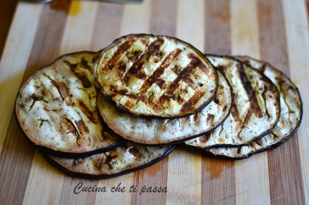 Insalata di melanzane alla griglia ricetta light (7)