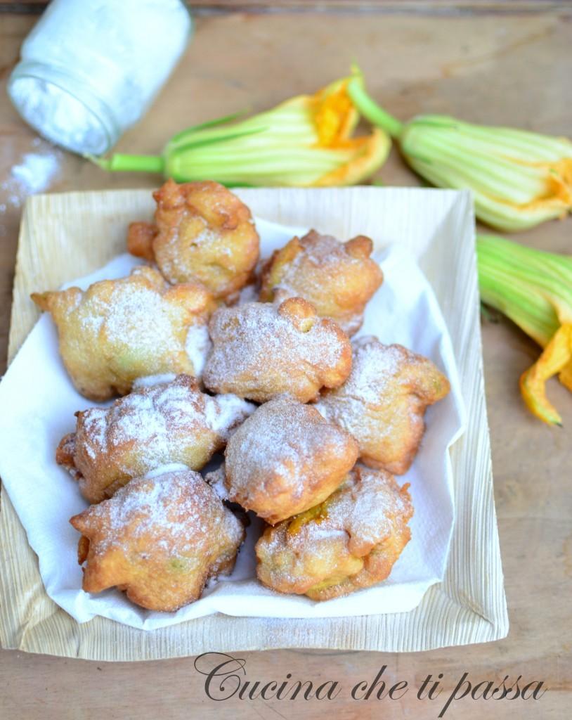 Frittelle ai fiori di zucchina   Cucina che ti passa