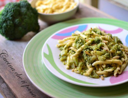 Strozzapreti con broccoli