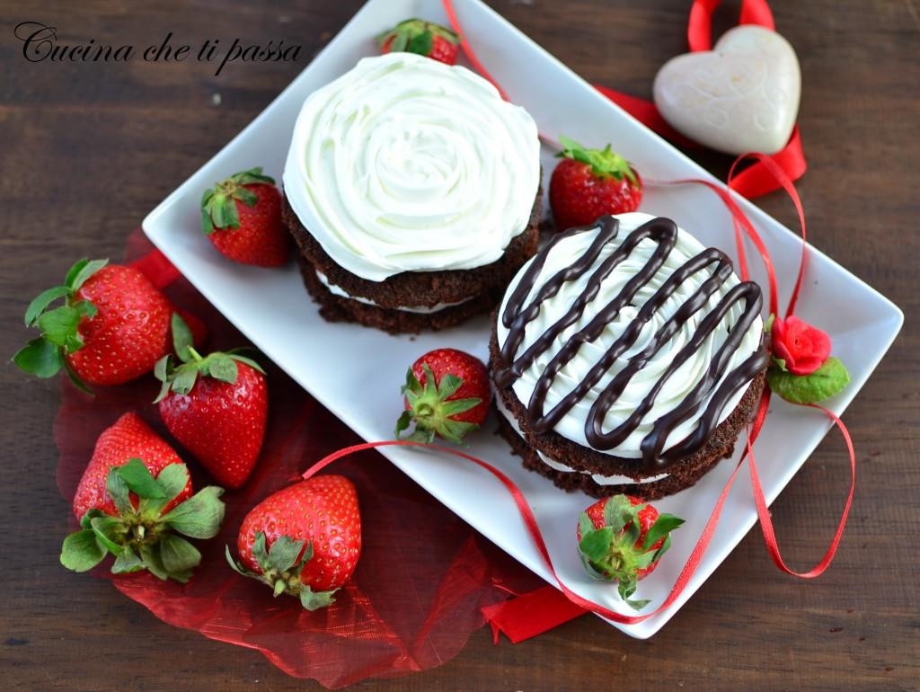 tortine al cioccolato e fragole ricetta (98)