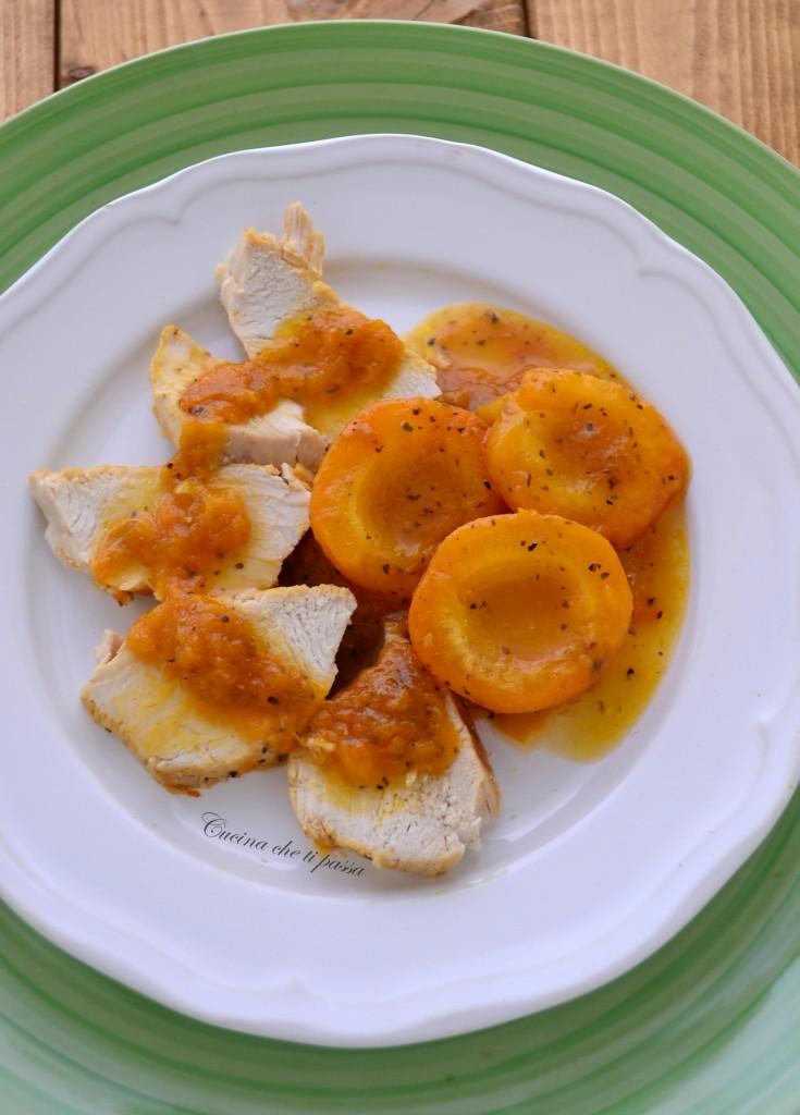 arrosto di pollo con albicocche ricetta (14)