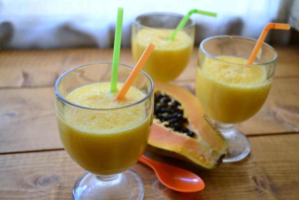 frulato di papaya e mango ricetta esotica (29)