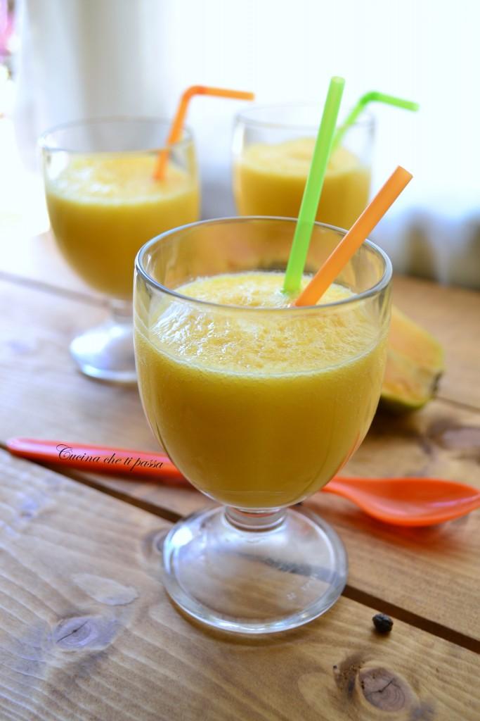 frulato di papaya e mango ricetta esotica (38)