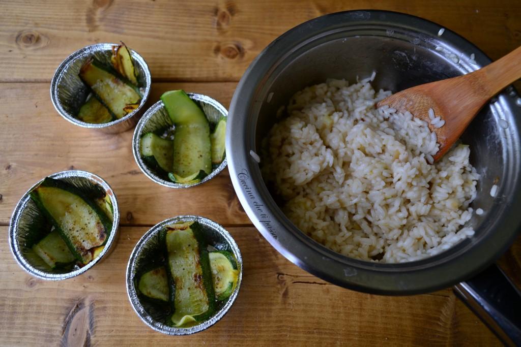 timballi di riso con mozzarella e zucchine ricetta (2)
